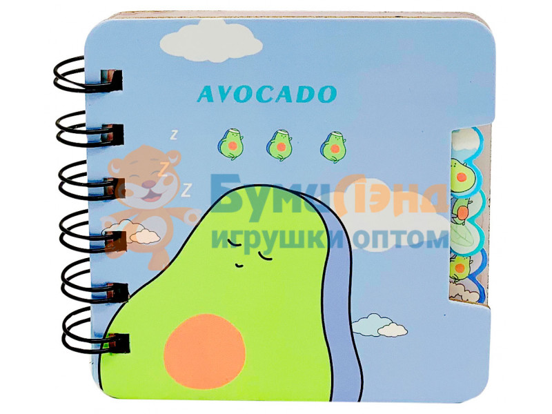 Блокнот Авокадо, квадратный