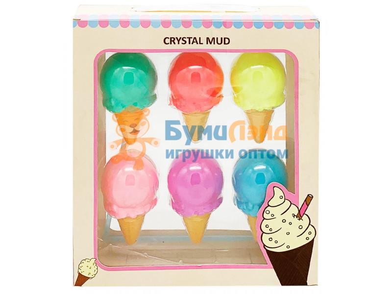 Слайм мороженое, 6 шт