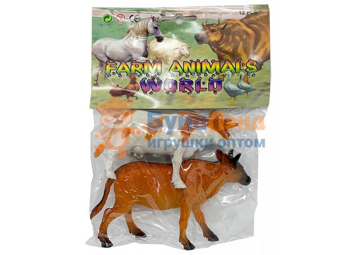 Фигурки животных в пакете, набор из 2- х шт