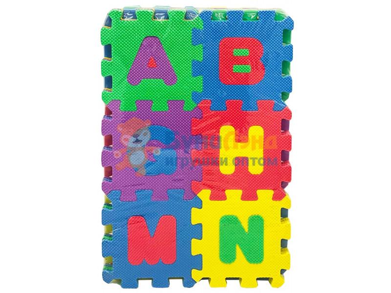 Коврик - пазл для детей, Английский алфавит