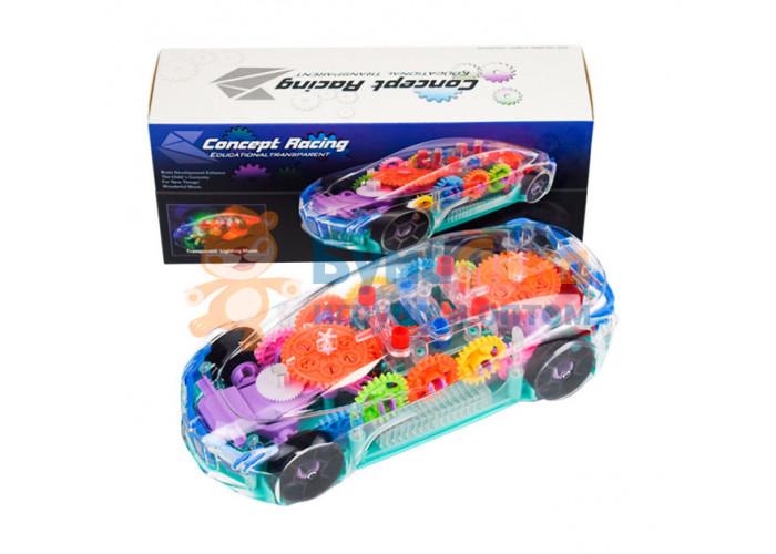 Прозрачная машина с шестерёнками