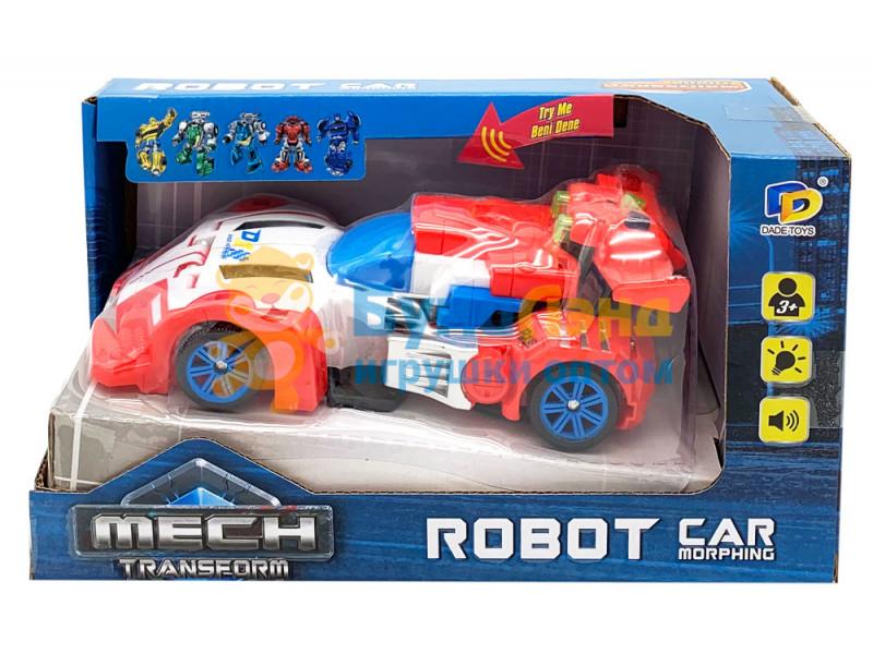 Гоночная машина - робот, трансформер