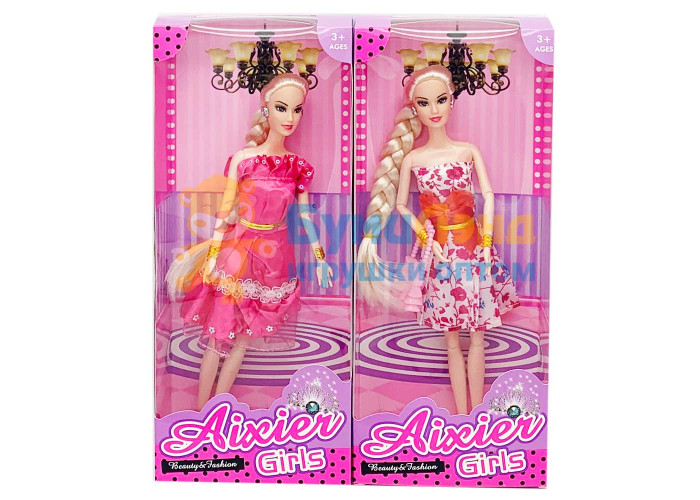 Кукла с косой, в ассортименте