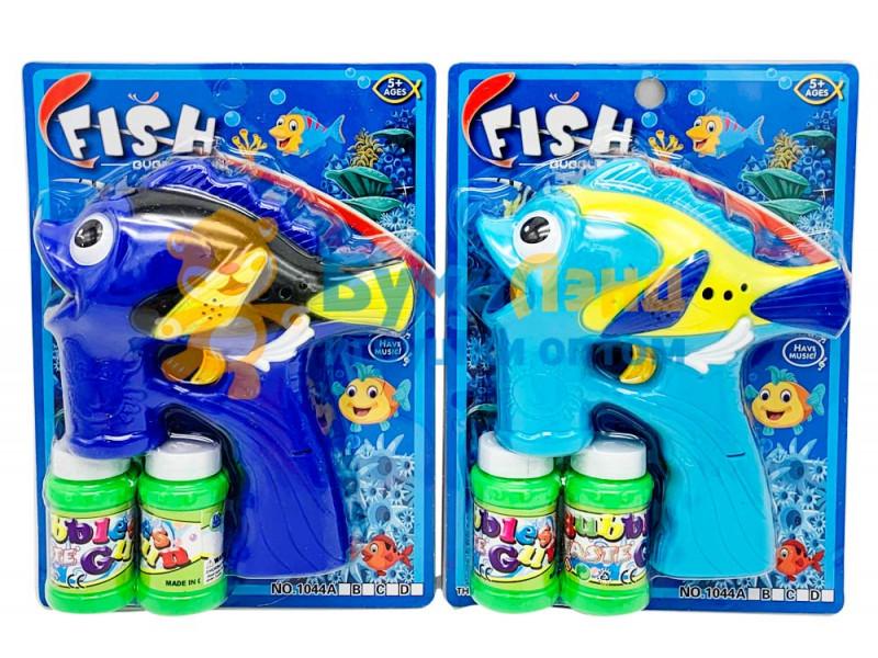 Мыльные пузыри, рыбки