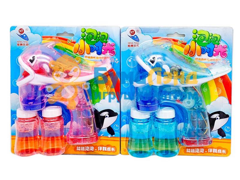 Мыльные пузыри, дельфин
