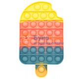 Сенсорная игрушка - антистресс POP IT Ванильное Эскимо