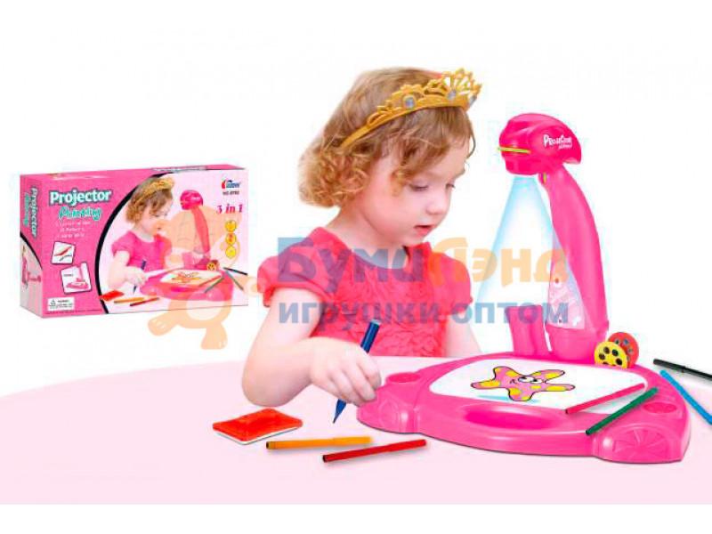 Детский проектор со столиком, XL