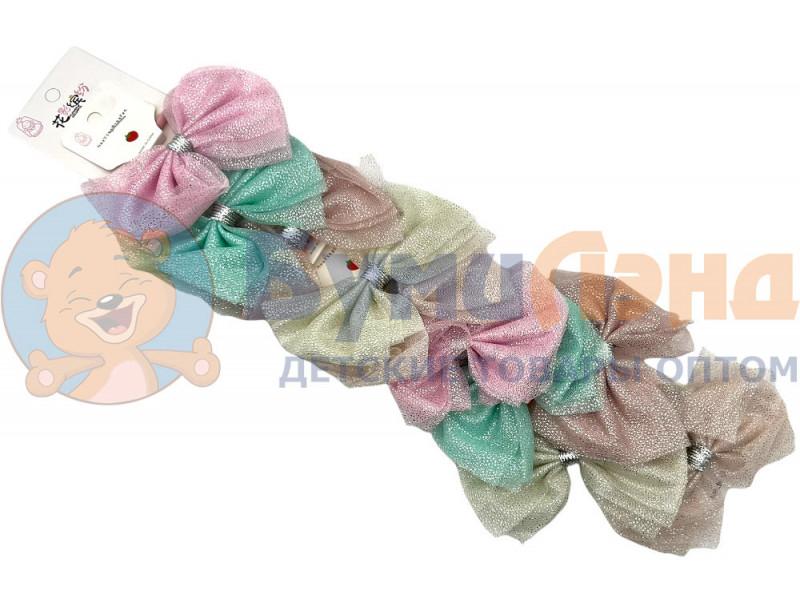 Перламутровые банты на резинках, 10 шт