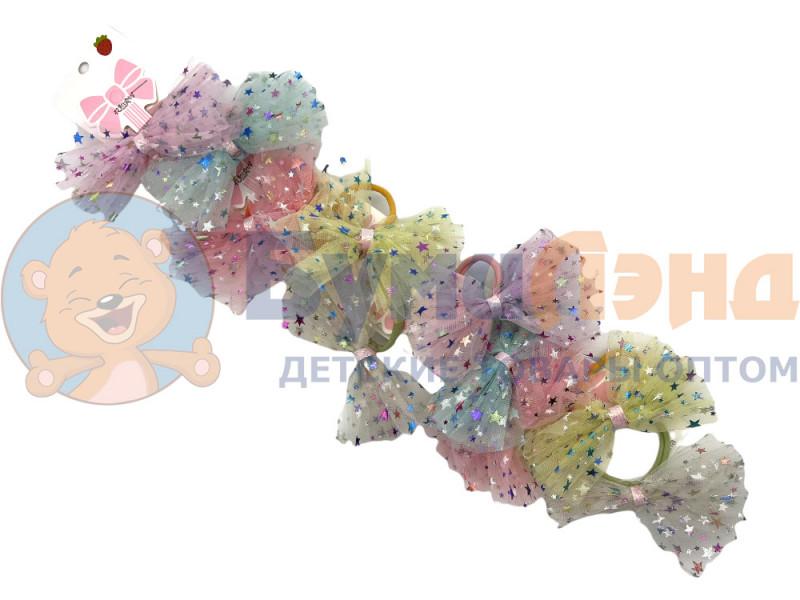 Фатиновые банты на резинках color, 10 шт