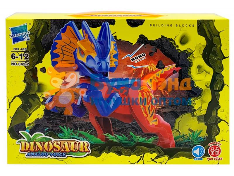 Конструктор Динозавры 042, 2 вида
