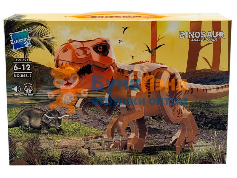Конструктор Динозавры 048, 2 вида