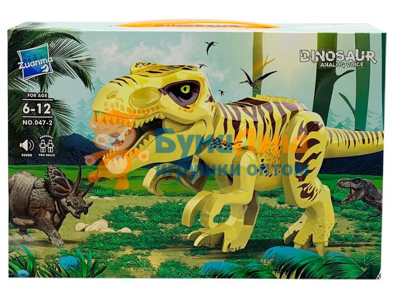 Конструктор Динозавры 047, 2 вида