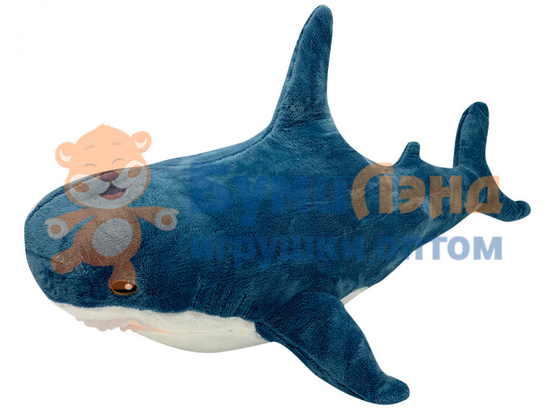 Мягкая игрушка Акула, 80 см