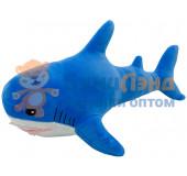 Мягкая игрушка Акула, 35 см