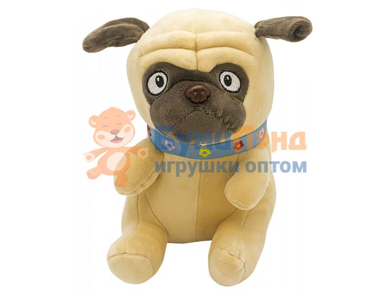 Мягкая игрушка Бульдог, 25 см