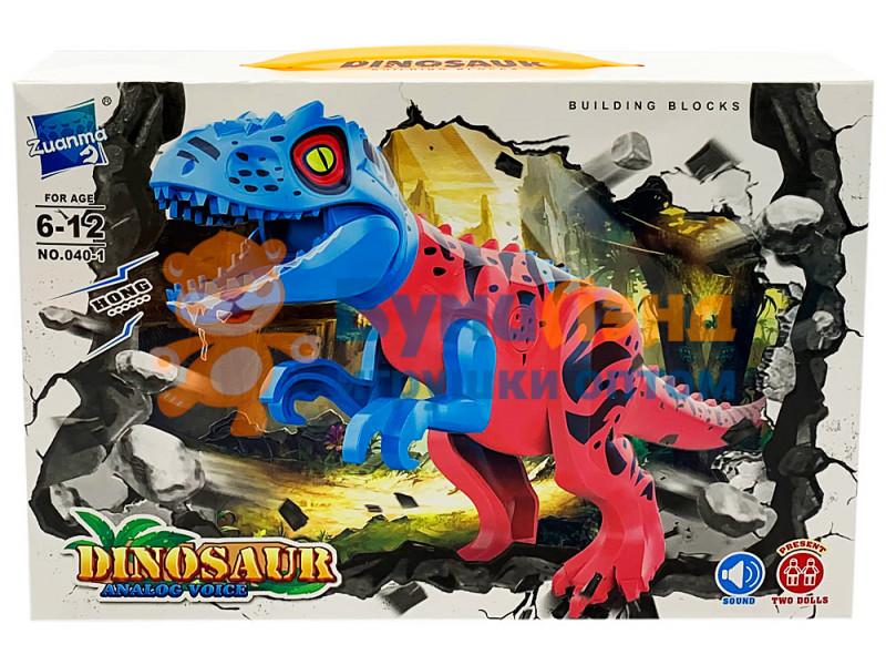 Конструктор Динозавры 040, 2 вида