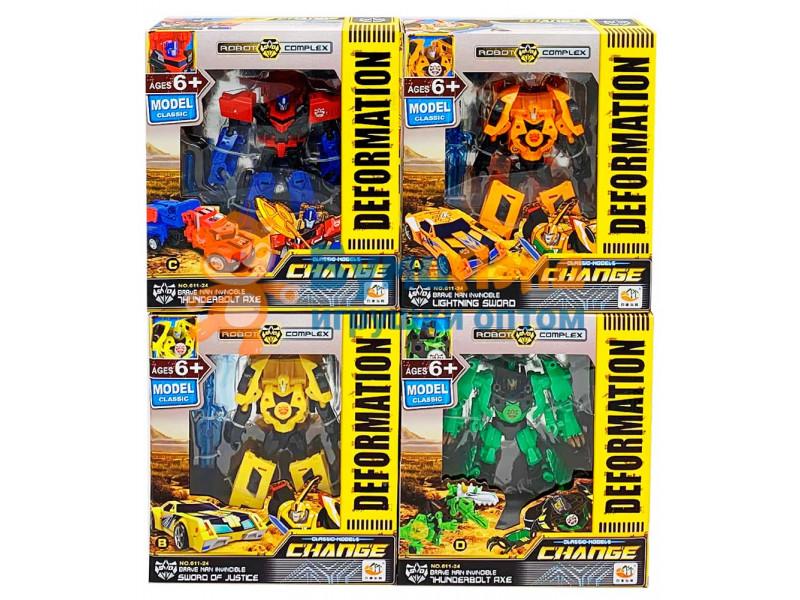 Роботы - трансформеры, 4 вида