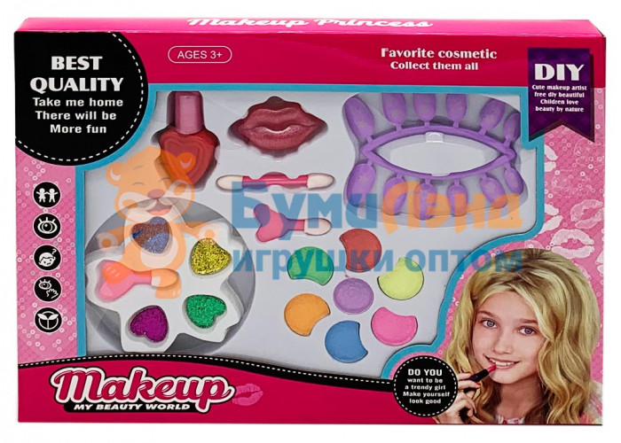Набор детской косметики в коробке