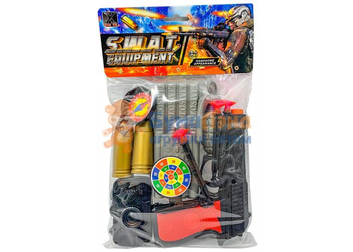 Игровой набор Военный спецназ с пулями