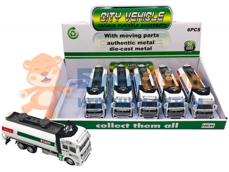 Коллекция грузовых автомобилей, 6 шт