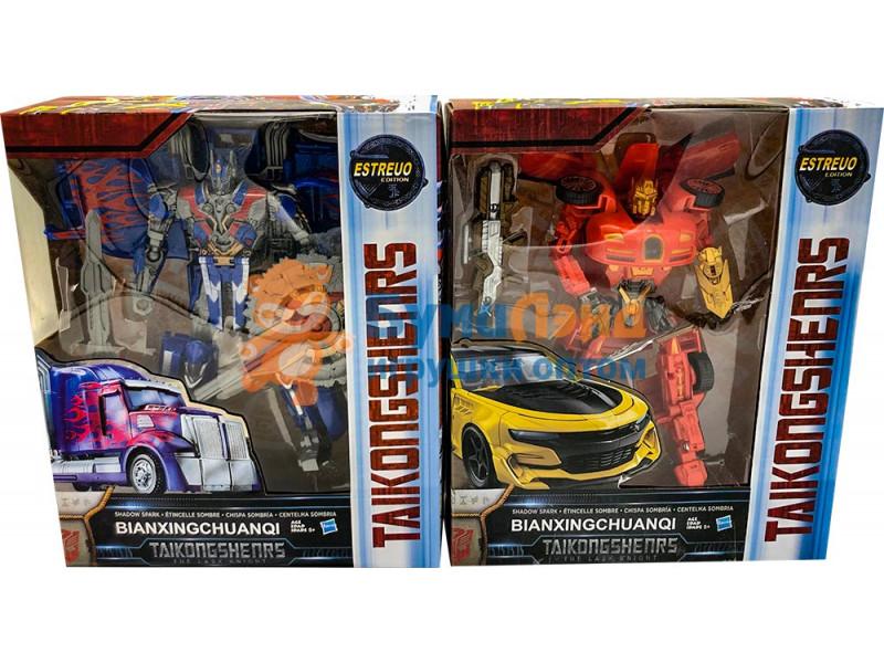 Роботы трансформеры в ассортименте, 4 вида
