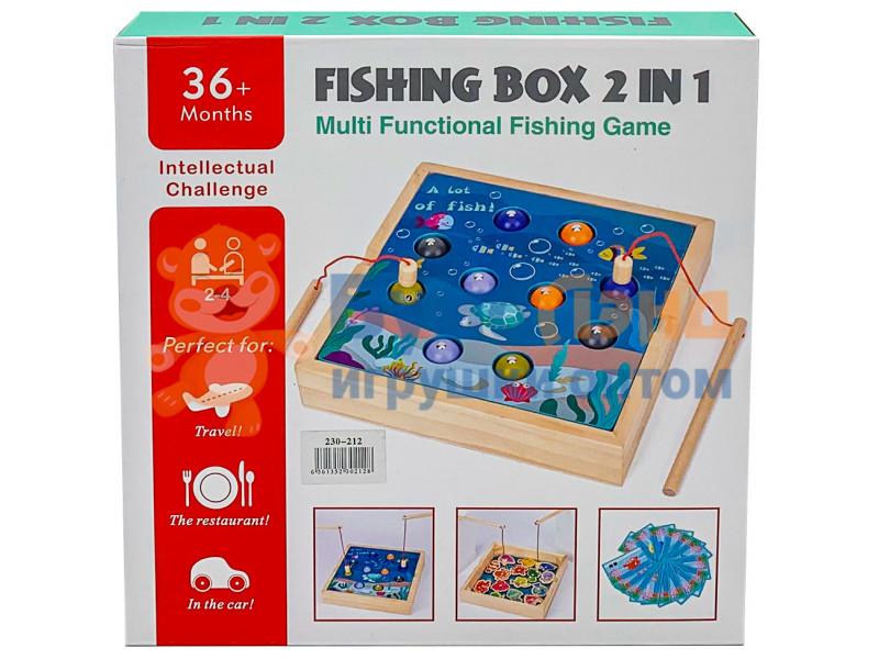 Деревянная рыбалка 2в1
