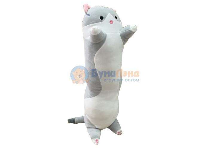 Мягкая игрушка - подушка Котик 70 см, в ассортименте