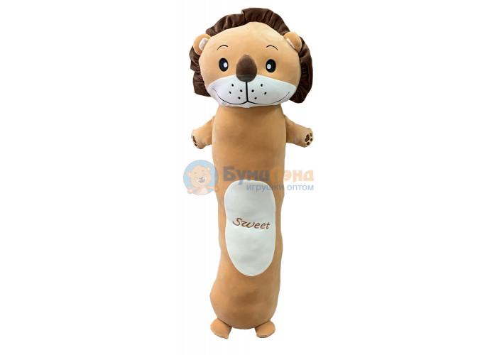Мягкая игрушка - подушка Лев 100 см