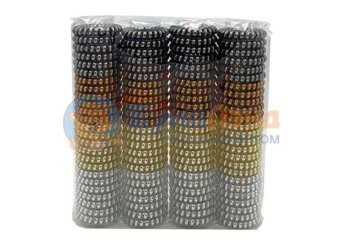 Набор резинок - пружинок для волос Хамелеон, 100 шт