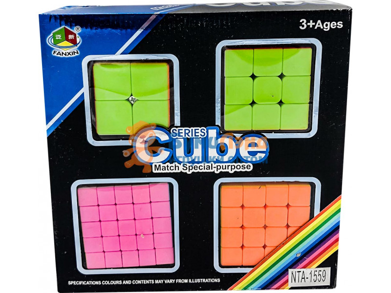 Набор из 4-х кубиков