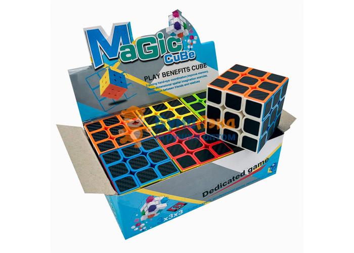 Кубик рубика 3x3 карбон
