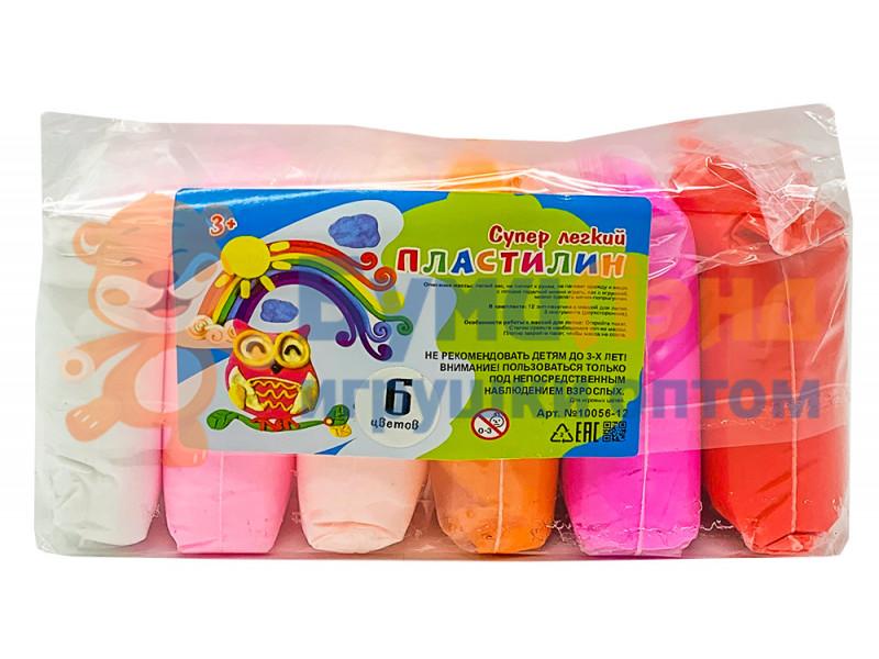 Воздушный пластилин, макси, 6 цветов