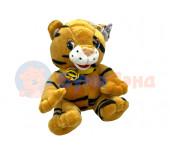 Музыкальный тигр, 20 см, микс