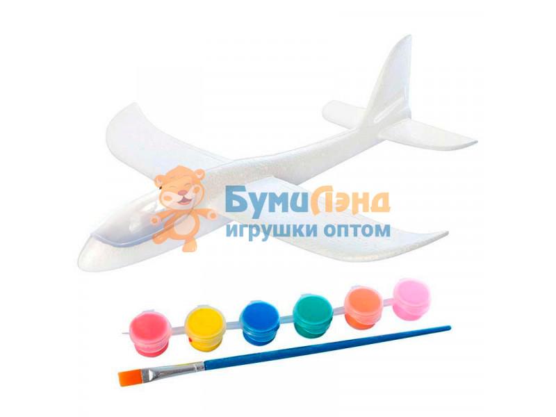Самолёты из пенопласта с LED подсветкой Рисуй сам, 48 см