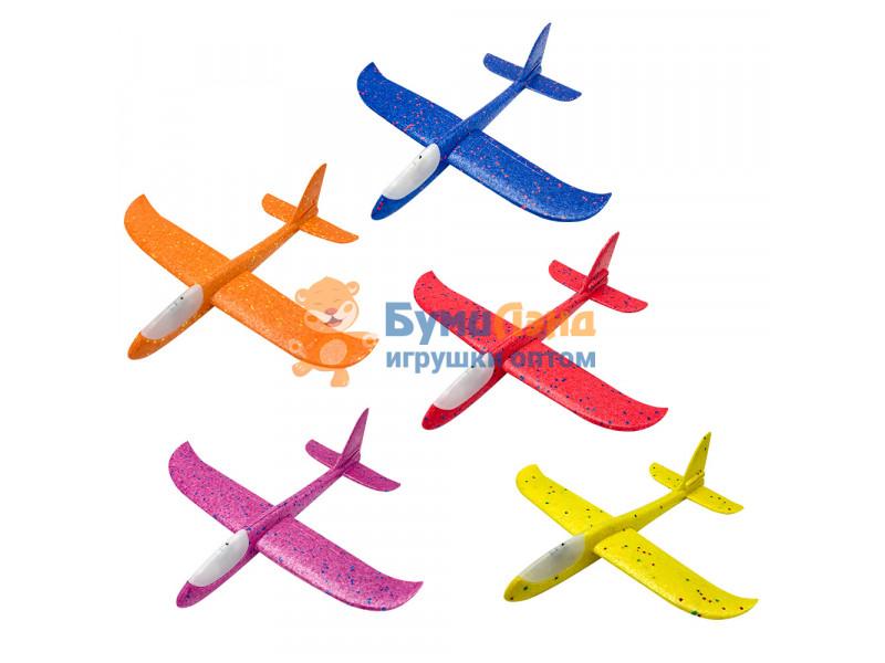 Самолёты из пенопласта с LED подсветкой, 48 см