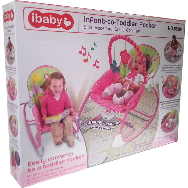 Детское кресло - качалка для девочек