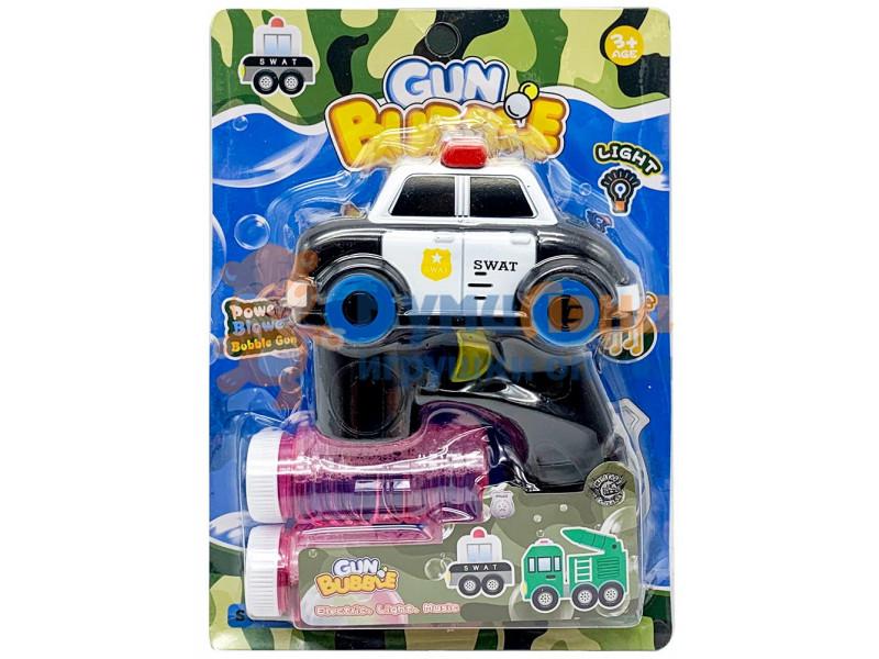 Пистолет с мыльными пузырями Машинки