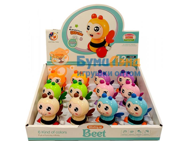 Заводная игрушка Пчёлка, 12 шт