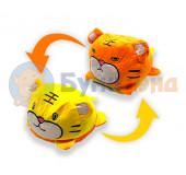 Мягкая игрушка тигр - перевёртыш